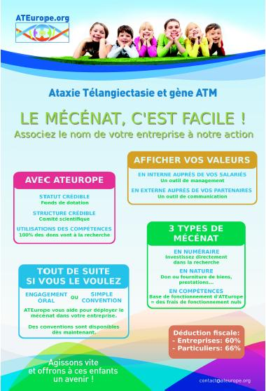 Flyer A5 mécénat facile